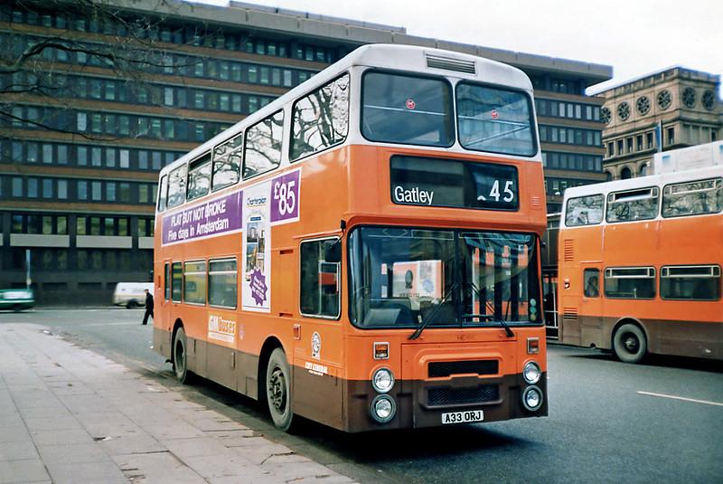 3033 A33ORJ, Manchester 4/1/1991