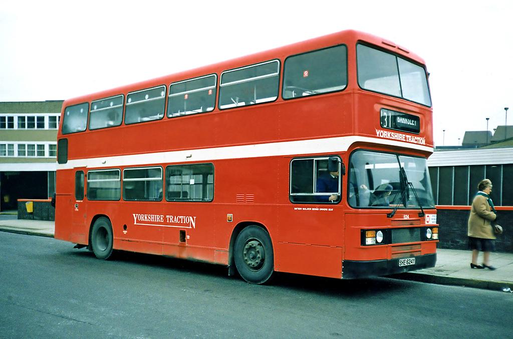 624 SHE624Y, Huddersfield 4/2/1991