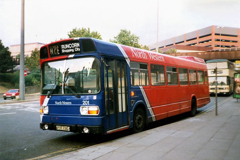 201 PTF721L, Liverpool 4/9/1991