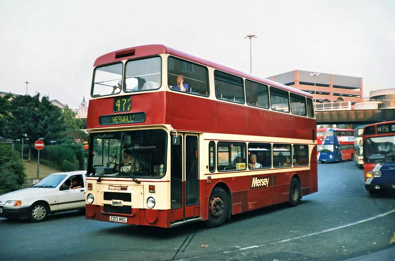 213 E213WBG, Liverpool 4/9/1991