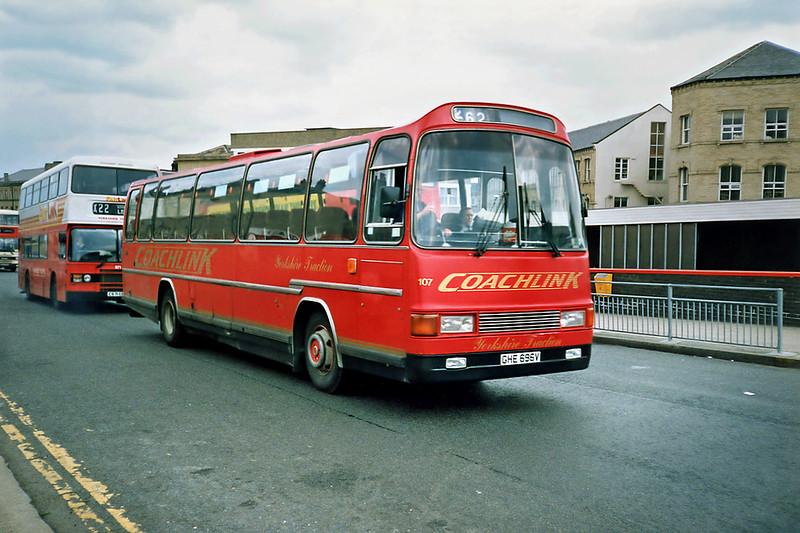 107 GHE696V, Huddersfield 5/6/1991