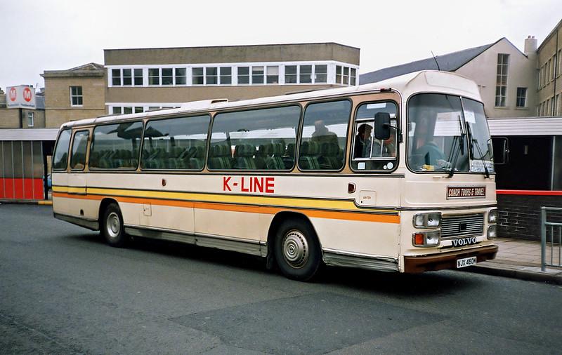 WJX460M, Huddersfield 5/6/1991