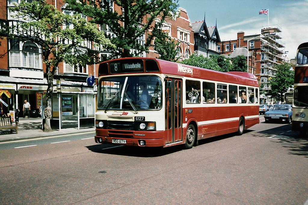 6127 VBG127V, Southport 5/7/1991