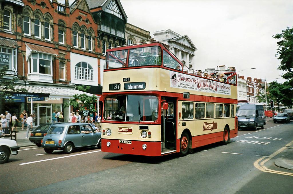 1524 GKA524M, Southport 5/7/1991