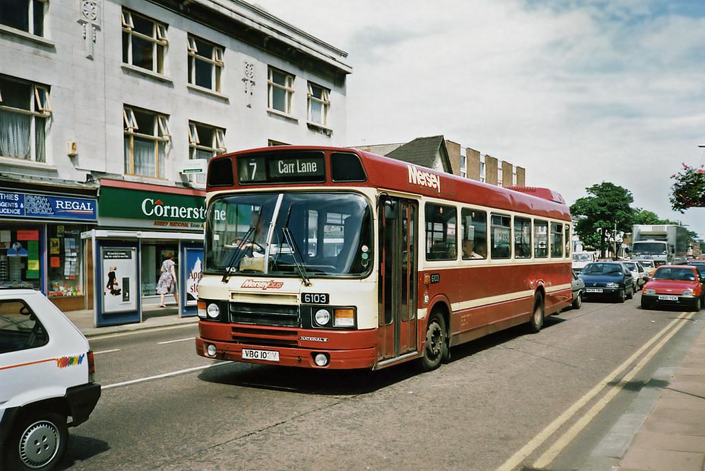 6103 VBG103V, Southport 5/7/1991