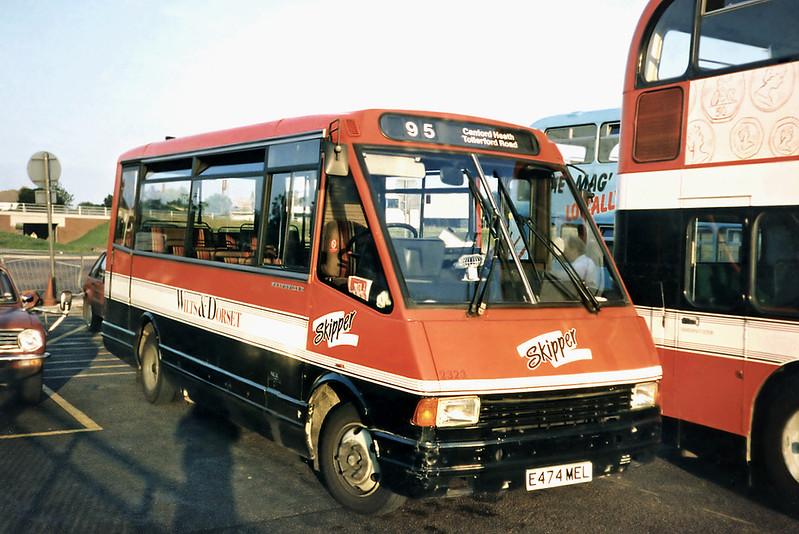 2323 E474MEL, Poole 6/7/1991