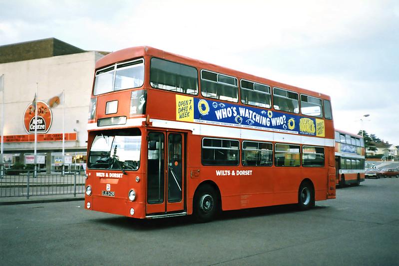1916 OJD242R, Poole 6/7/1991