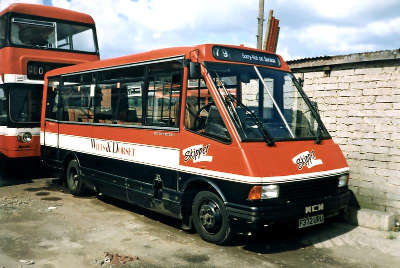 2372 F372URU, Salisbury 6/7/1991