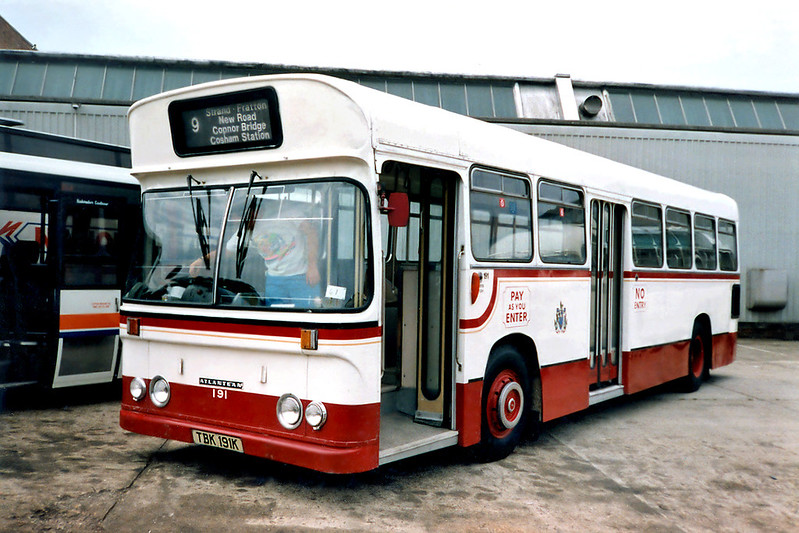 191 TBK191K, Bournemouth 7/7/1991