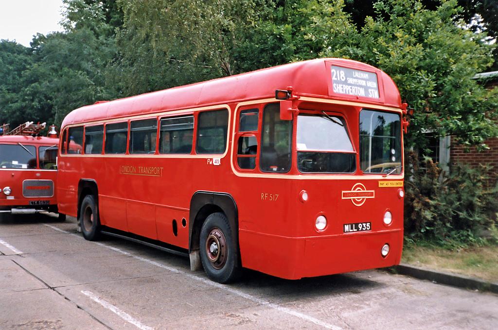 RF517 MLL935, Bournemouth 7/7/1991