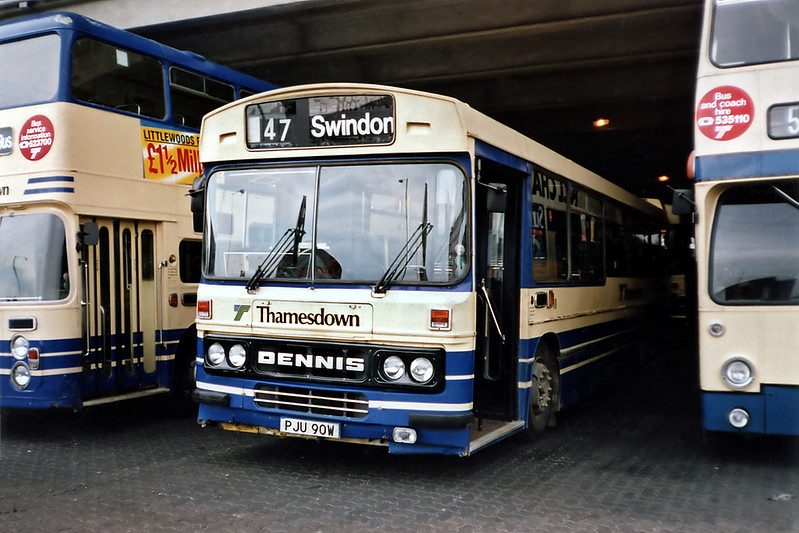 90 PJU90W, Swindon 7/7/1991