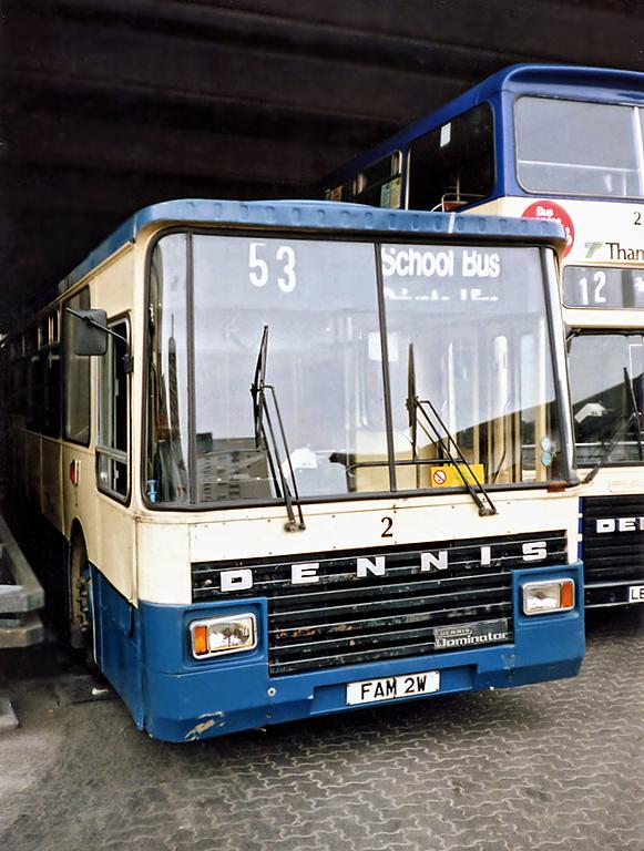 2 FAM2W, Swindon 7/7/1991