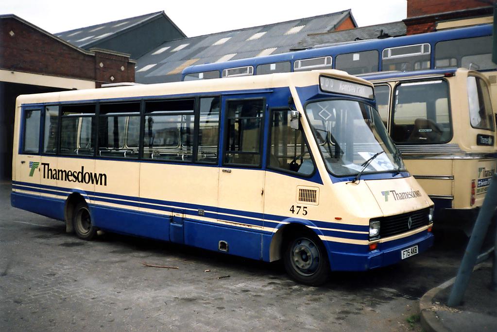 475 F75AKB, Swindon 7/7/1991