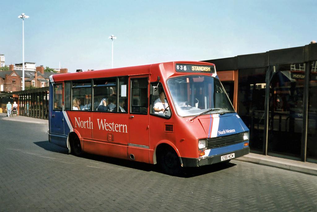96 E96WCM, Wigan 7/9/1991