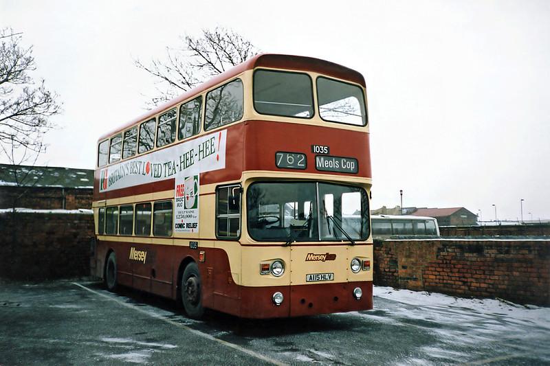1035 A115HLV, Southport 8/2/1991