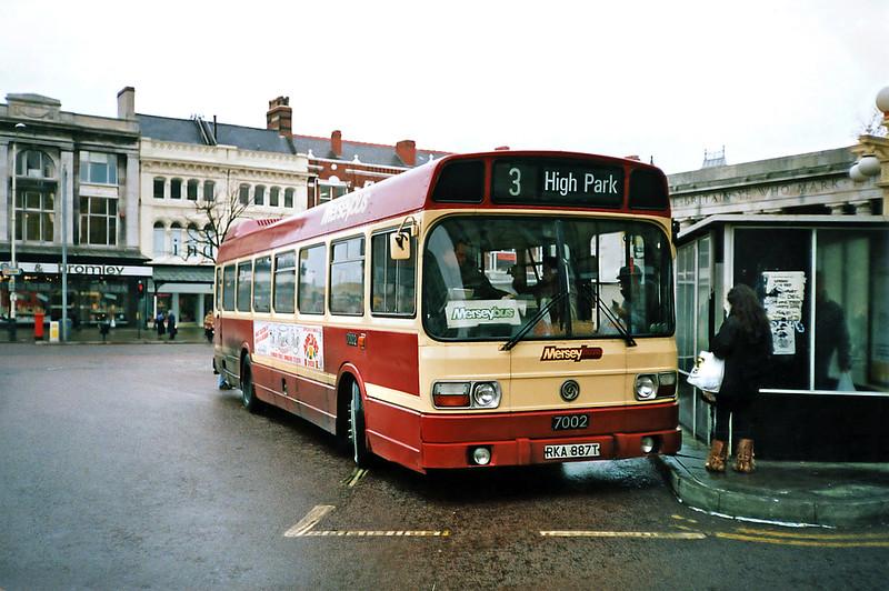 7002 RKA887T, Southport 8/2/1991