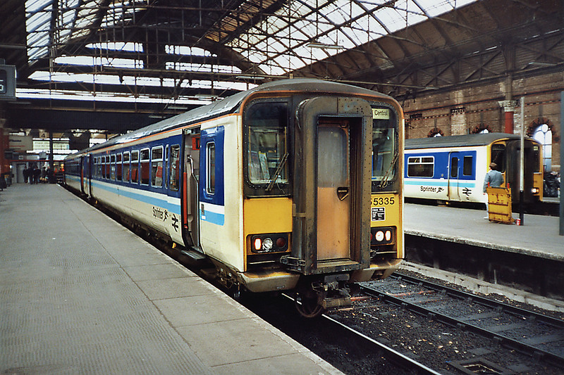 155335 Manchester Piccadilly 8/5/1991