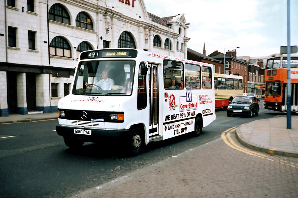 580 G180PAO, Bury 8/5/1991