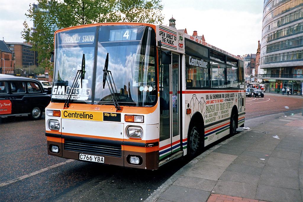 1766 C766YBA, Manchester 8/5/1991
