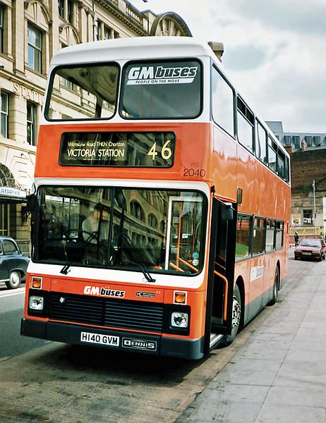 2040 H140GVM, Manchester 8/5/1991