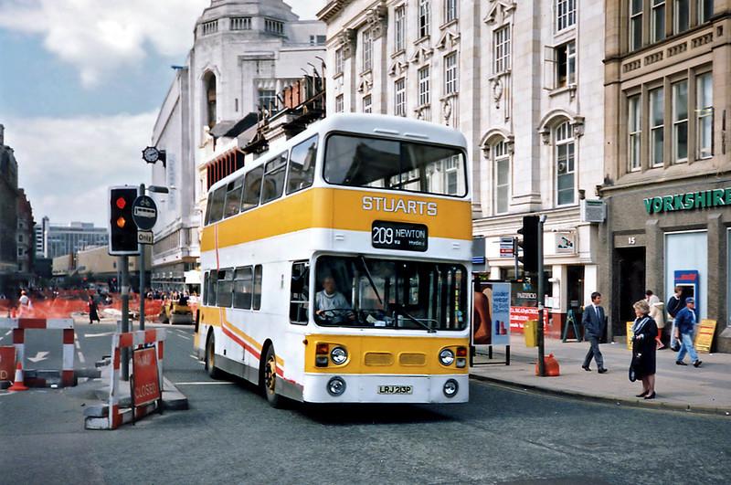 LRJ213P, Manchester 8/5/1991