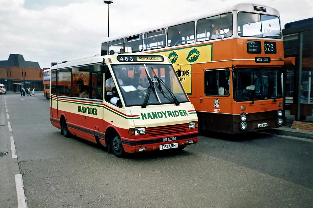 61 F61ARN, Bury 8/5/1991