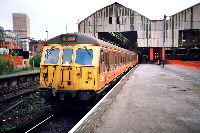 65450, 77171, 77182 and 65461, Manchester Victoria 8/5/1991