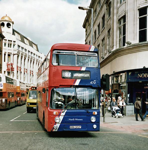 472 NRN382P, Manchester 8/5/1991