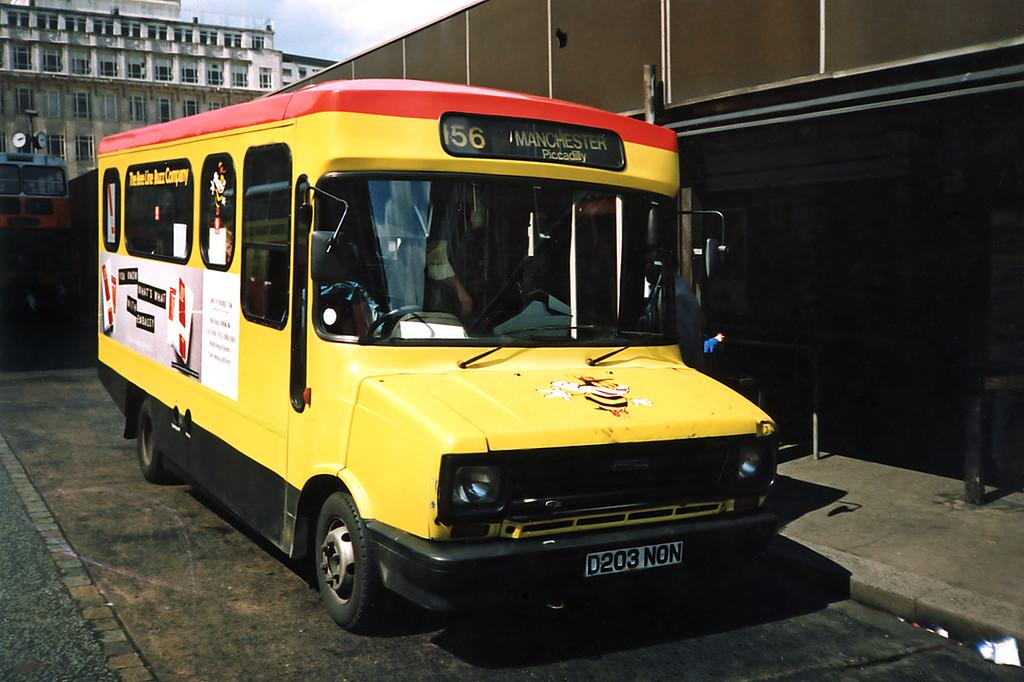 3203 D203NON, Manchester 8/5/1991