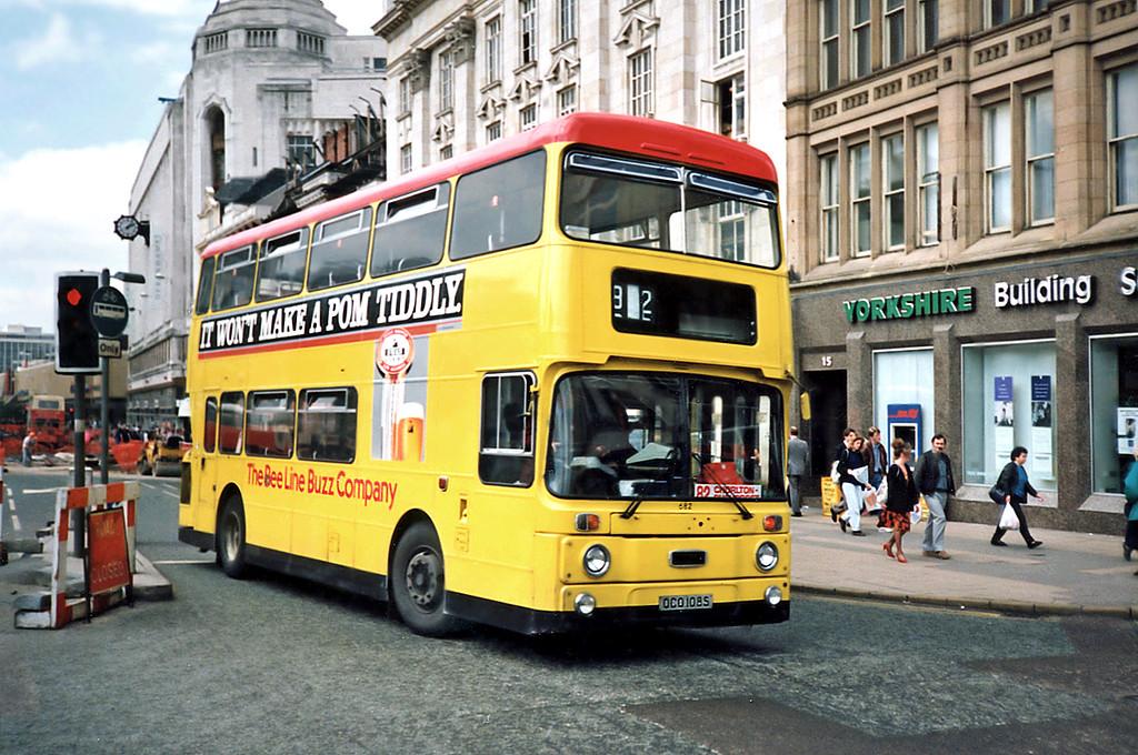 682 OCO108S, Manchester 8/5/1991