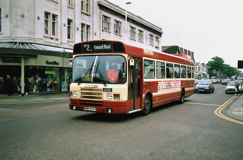 6100 WWM905W, Southport 8/6/1991