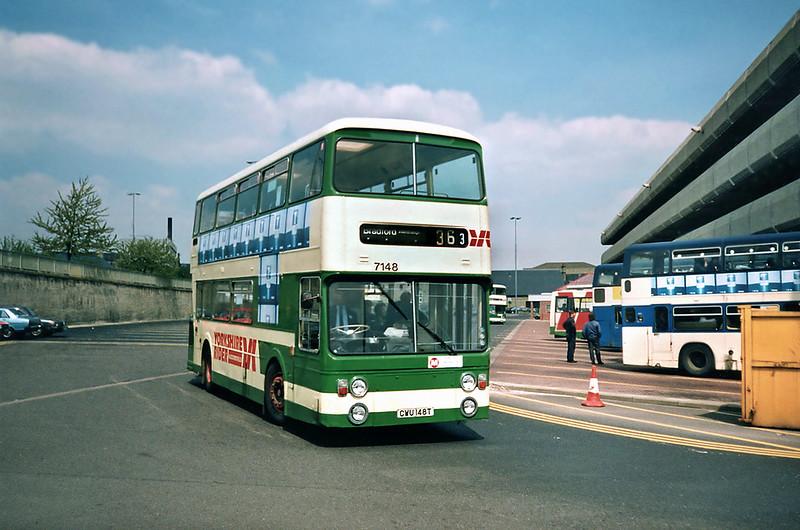 7148 CWU148T, Huddersfield 9/5/1991