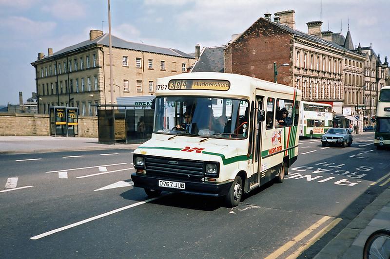 1767 D767JUB, Huddersfield 9/5/1991