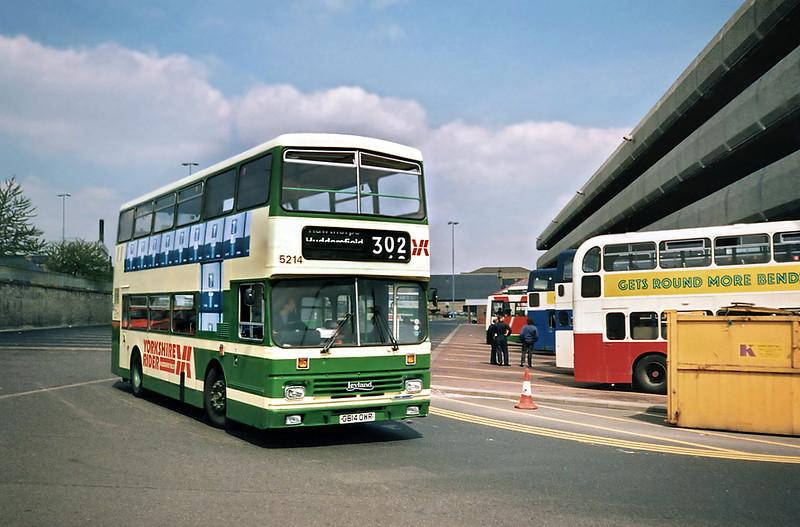 5214 G614OWR, Huddersfield 9/5/1991