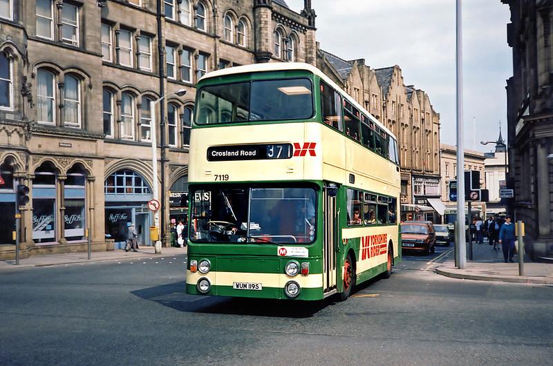 7119 WUM119S, Huddersfield 9/5/1991