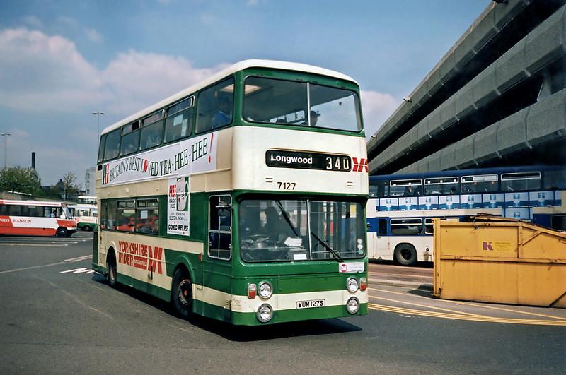 7127 WUM127S, Huddersfield 9/5/1991