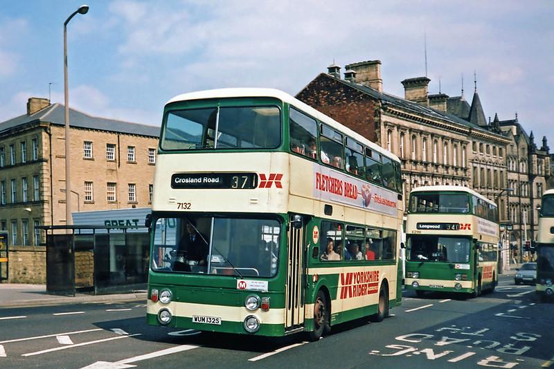 7132 WUM132S, Huddersfield 9/5/1991