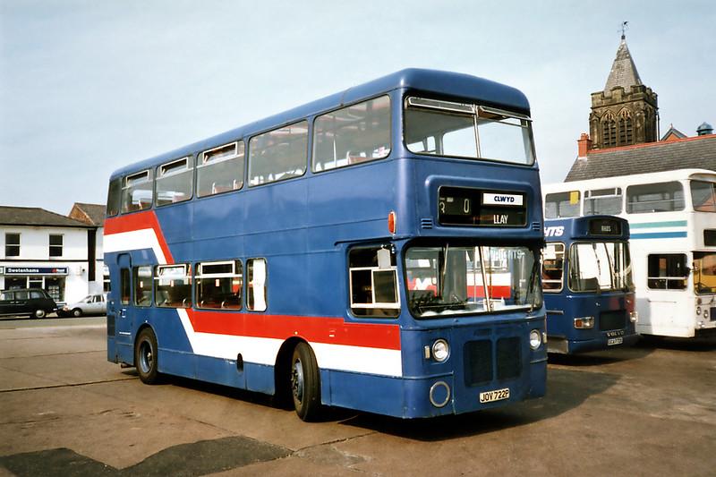 JOV722P, Wrexham 9/9/1991