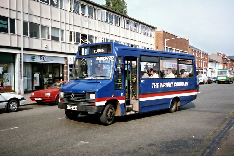 F702GWJ, Wrexham 9/9/1991