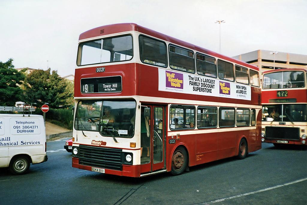 0021 UKA21V, Liverpool 9/9/1991