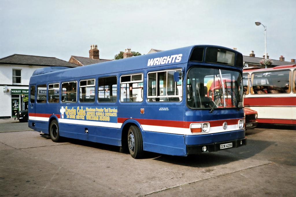 DDW429V, Wrexham 9/9/1991