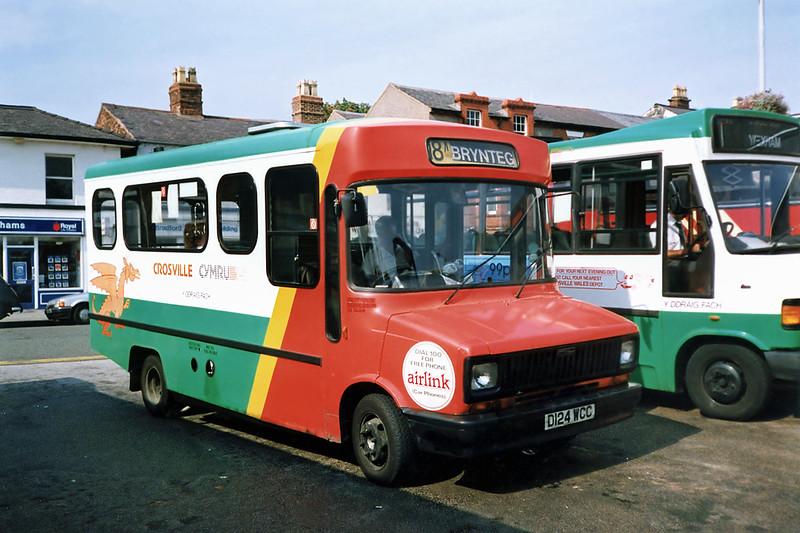 MSL124 D124WCC, Wrexham 9/9/1991