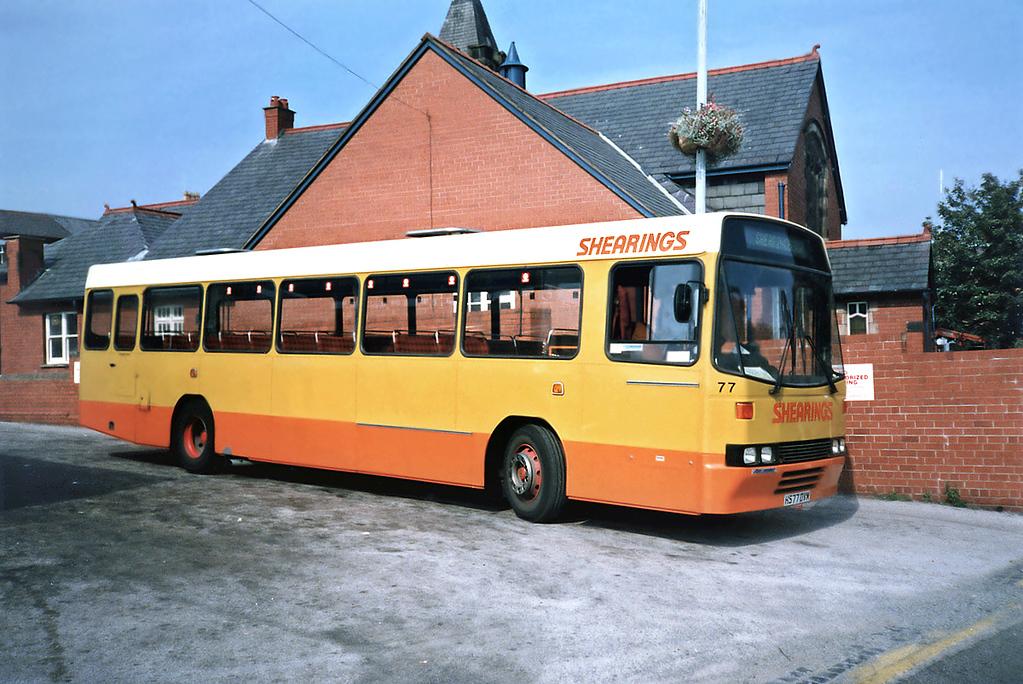 77 H577DVM, Wrexham 9/9/1991