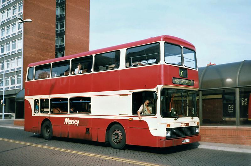 268 F268YTJ, Chester 9/9/1991