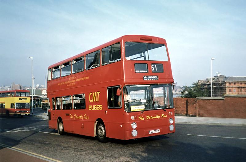 BNE733N, Birkenhead 9/9/1991