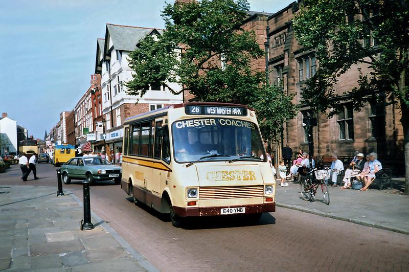 40 E40YMB, Chester 9/9/1991