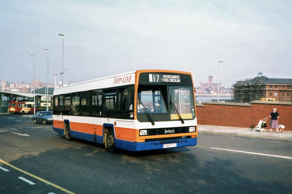 F363YTJ, Birkenhead 9/9/1991