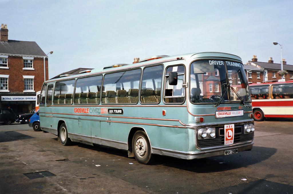 SBB69 WNK298M, Wrexham 9/9/1991