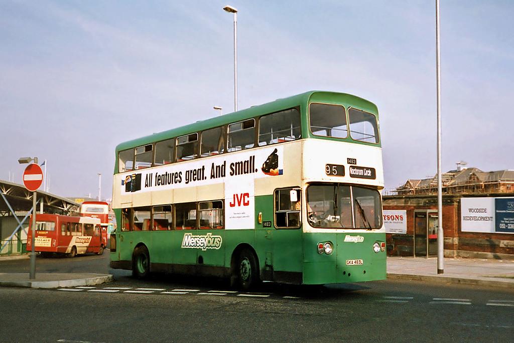1483 GKA483L, Birkenhead 9/9/1991
