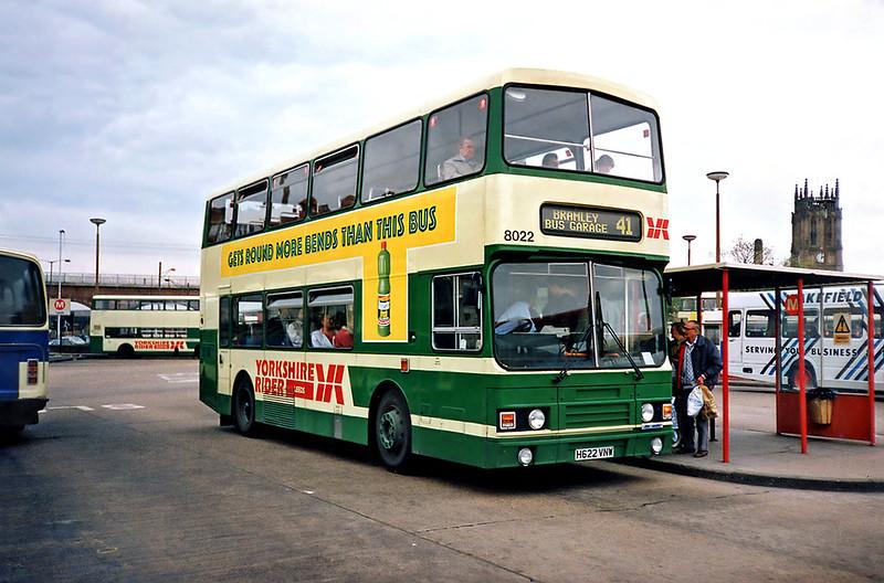 8022 H622VNW, Leeds 10/5/1991